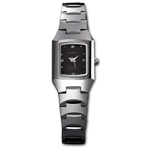 Armbanduhr-Quarz-Wolfram-Stahl-Bohrer-Fashion-Casual-Frauen-Armbanduhr-1