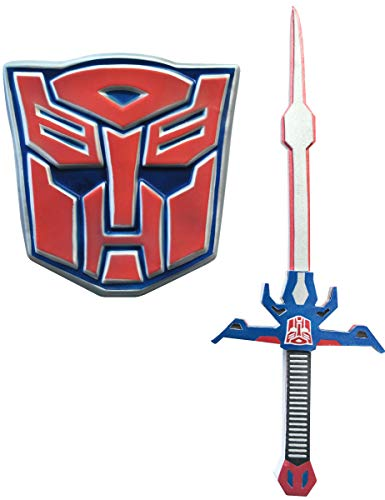 ert und Schild Set - Optimus Prime - Transformers, One Size ()