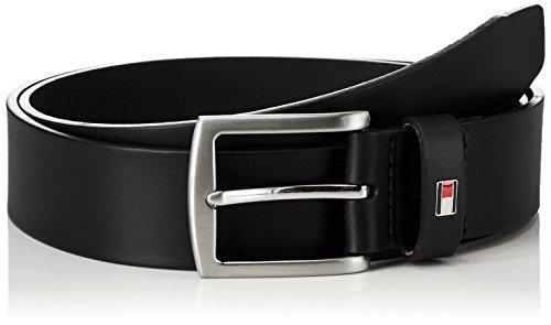 Tommy Hilfiger E3578A1208, Cinturón Para Hombre, Negro (BLACK 990), 90 cm