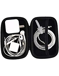 Teconica ZS10 Latest Mini Square Shape Carrying Pouch For Earphone, USB Cables, Earbuds & Small Coin Pouch (Assorted...