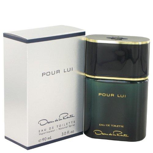 Oscar de La Renta Pour Lui Eau de Toilette mit Zerstäuber - Herren, 1er Pack (1 x 90 ml)