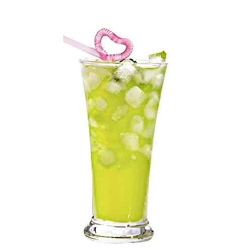 Black Temptation Elegante Goblet Party Gläser Heavy Base Saft Gläser Trinken Wein Cups, A 1