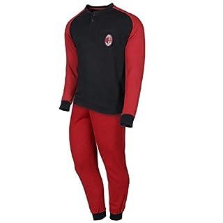 Schlafanzug Herren Milan Offizielle Bekleidung A.C. Milan * 24603, mehrfarbig L