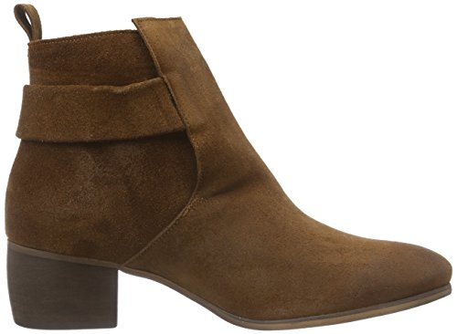 Mentor - Mentor Ankle Boot, Stivali Donna Marrone (Braun (Brown Waxed Suede))