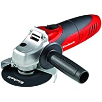 Einhell 4430619 Radial angular TC-AG 125, diámetro de 125 mm, sin disco de corte, 850 W, 230 V, color rojo y negro