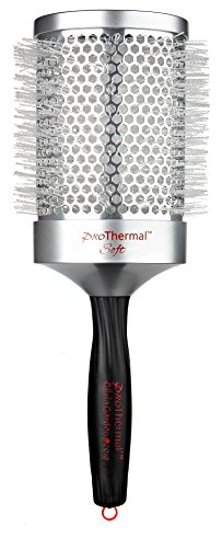 Olivia Garden Haar-Rundbürste Pro Thermal Soft 83/ 105 mm mit Aluminiumkörper