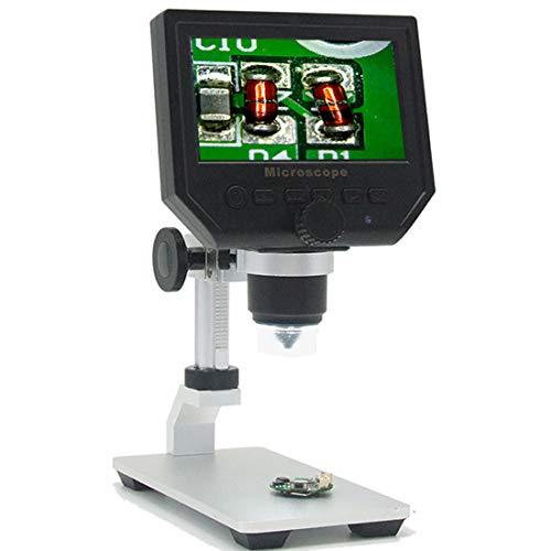 gital Microskop mit 3,6 Millionen Pixels Bildverstellbarer Zoom, USB-Anschluss Portable für Circuit Welding Maintenance Animal & Plant Research Jewelry Identification ()