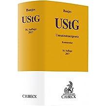 Umsatzsteuergesetz (Gelbe Erläuterungsbücher)