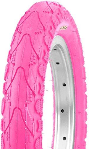 2x Kenda Fahrradreifen 12' Zoll Pink Rosa 62-203 (12 1/2 x 2 1/4) Kinderrad Reifen Mantel Decke