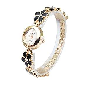 Armbanduhr Damen Ronamick Schöne mode einfache uhr stahlband uhr frauen mechanische gang uhr Armband Armbanduhr Uhr Uhren(BK)