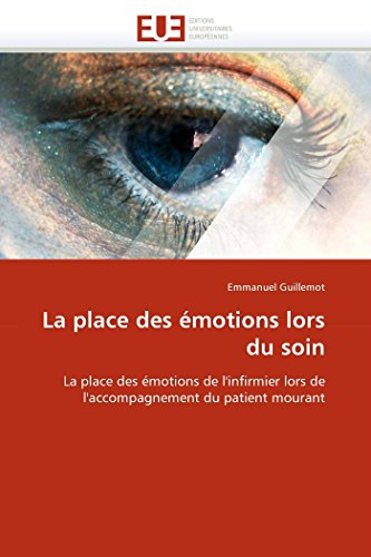 La place des émotions lors du soin