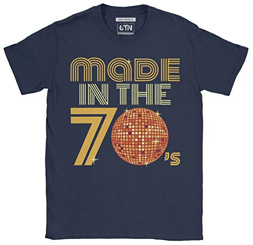 Gents Made in The 70's Retro Discoball T Shirt - M to XXL