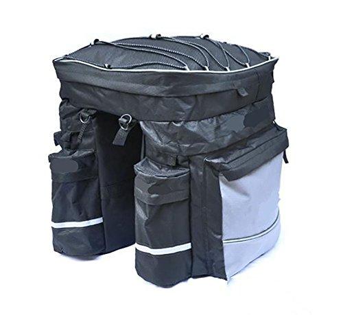 RUIX Fahrradtasche 3-In-1-Regal-Rucksack-Fahrrad-Tasche Kamel-Packung Geeignet Für Lange Reisen