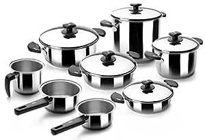 Lacor 88000 Batterie de cuisine 8 Pièces Nova Ladycor
