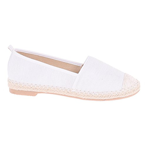 CATISA-bal3_fd188, Ballerine donna Bianco (bianco)