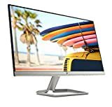 HP 24FW Monitor 24', IPS FHD, 1920 x 1080 1080p, 5 ms, AMD FreeSync, Inclinabile, Argento