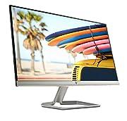 """HP 24fw. Dimensioni schermo: 61 cm (24""""), Risoluzione del display: 1920 x 1080 Pixel, Tipologia HD: Full HD, Tecnologia display: LED. Tipologia display: LED. Tempo di risposta: 5 ms, Rapporto d'aspetto nativo: 16:9, Angolo di visualizzazione ..."""