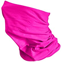MKR Bandoozi - Braga para cuello, ligera, color fucsia, tamaño One Size Fits All