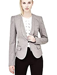 Guess Ise Blazer Cappotto Donna: Amazon.it: Abbigliamento