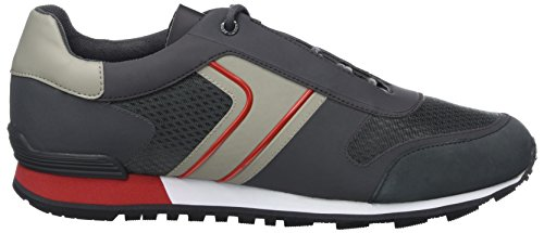 Boss Green Parkour_Runn_Tech, Sneakers Basses Homme Gris (Dark Grey)