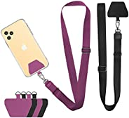 Cell Phone Lanyard, Doormoon Universal Adjustable Neck Straps for Phone Case Keys ID Badges Compatible with iP