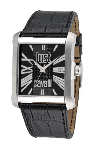 Just Cavalli - R7251119002 - Montre Homme - Quartz Analogique - Bracelet Cuir Noir
