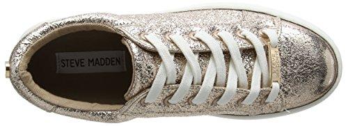 Steve Madden - Bertie-c Sneaker, Scarpe da ginnastica Donna Gold (Rose Gold)