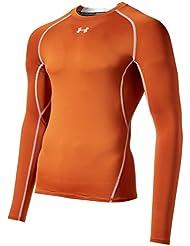 Under Armour CC Sport Style Logo–Camiseta de entrenamiento para hombre (Camisetas naranja Texas Orange/White