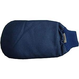Kälte und Wärme Therapie für die Hand mit Raps Rheuma Handschuh z.B. Hilfe bei Rheumaschub und Arthrose in Händen marine