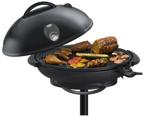 Severin Pg 9320 Barbecue Elektrogrill : Steba vg big barbecue säulengrill mit haube
