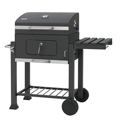 tepro Toronto Trolley Grill Barbecue- Black