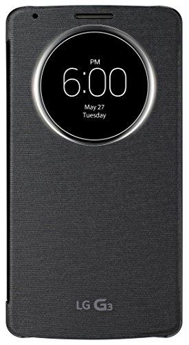 LG G3 Quick Circle Schutzhülle - schwarz