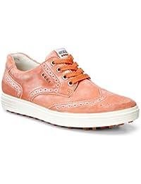 ECCO zapato de golf de mujer naranja amapola 122003/01492