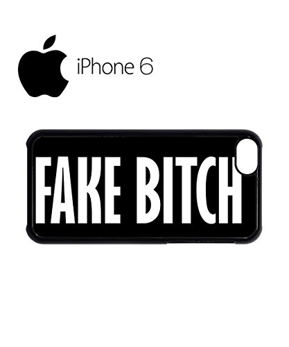 Fake B*itch Cool Vintage Swag Mobile Phone Case Back Cover for iPhone 6 Black Noir