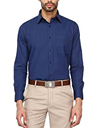 Stop by Shoppers Stop Mens Regular Collar Slub Shirt