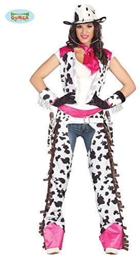 üm für Damen Karneval Fasching Wilder Westen Western Gr. M - L, Größe:M ()