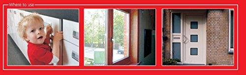 Smartwares Mini Tür und Fensteralarm im 3-er Pack - 3