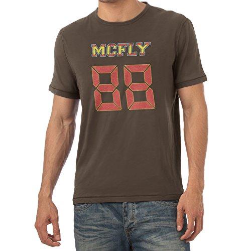 TEXLAB - McFly 88 - Herren T-Shirt, Größe XL, (Biff Tannen Kostüme)