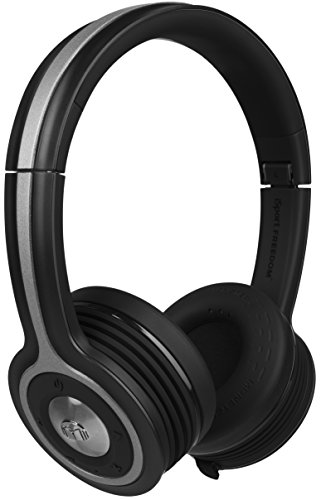 Monster iSport Freedom Wireless Bluetooth On Ear Headphones - Black