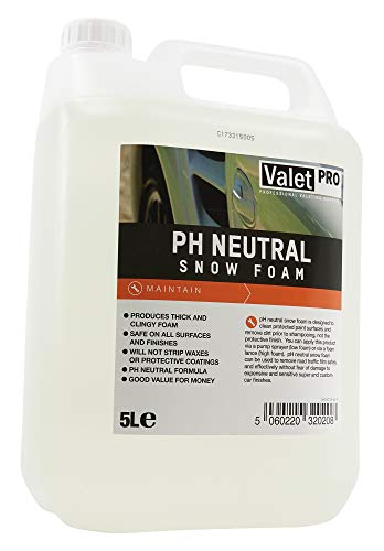 ValetPRO PH Netural Snow Foam 5 Litres