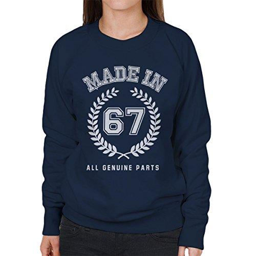 Coto7 Made In 67 All Genuine Parts Women's Sweatshirt