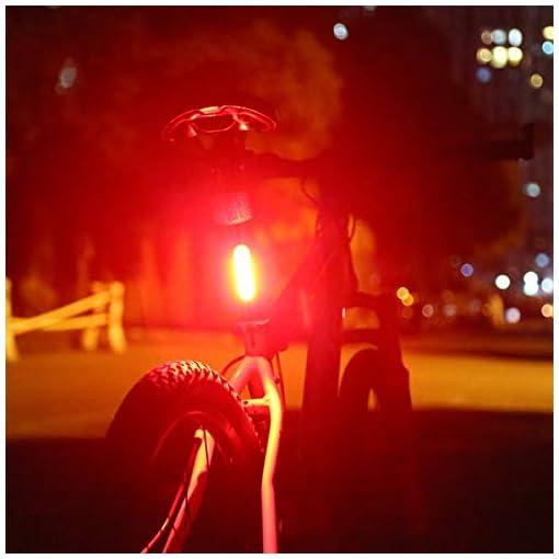 Luce Posteriore, USB Ricaricabile per Bicicletta, LED Bicicletta Fanale Posteriore