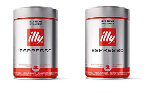 Illy Espresso Normale Röstung, 250g Gemahlen, 1er Pack