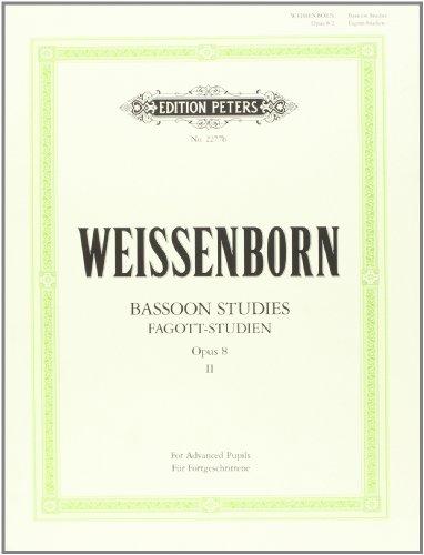 Etudes Op.8 Volume 2 - Bn solo