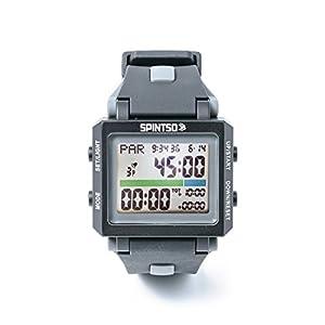 Spintso Watch 2S grau Profi Schiedsrichter-Armbanduhr
