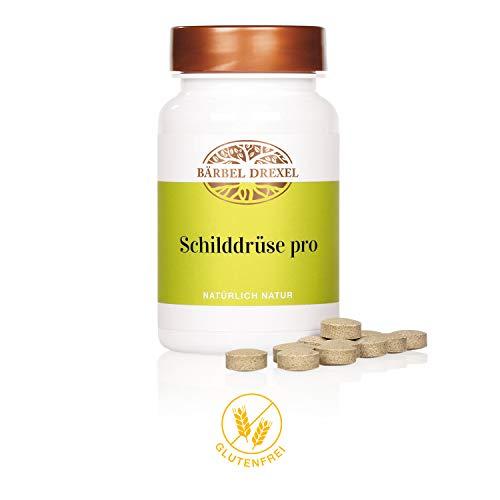 BÄRBEL DREXEL Schilddrüse Pro Kapseln (125 Stk) 100% Vegane Herstellung Deutschland Vitamin D Selen