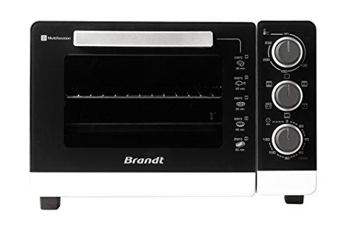 Brandt - Four Multifonction 26L Blanc - Mécanique