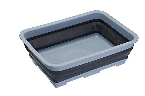 Kitchencraft Masterclass Smart Espacio plástico Fregadero Portátil Plegable de Cuenco de/lavavajillas, 7litros...