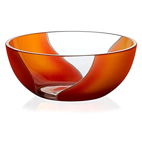 Crystal Bowl, Fruit Bowl, Salad Bowl, Ideal for dinner parties, Collection