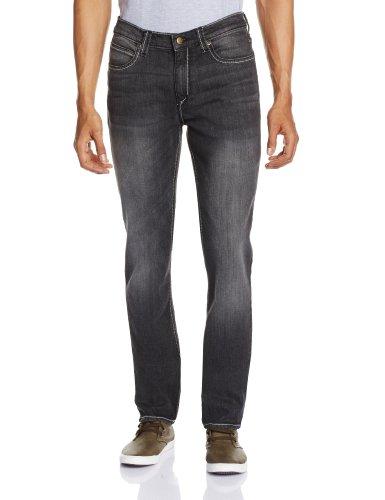 Lee Mens Bruce Skinny Fit Jeans (8903252696798_LEJN2439E_30W x 33L_Sprayed Black)